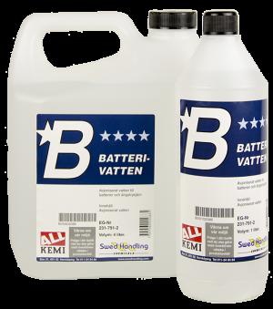 Batterivatten - Batterivatten 1 liter