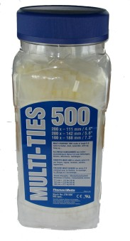 Buntband JTN500 Vit 500st -