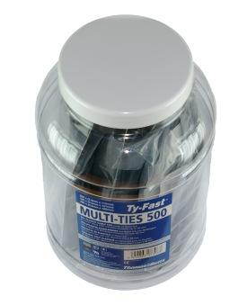 Buntband JIT500 Svart 500st -