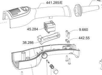 Rupes strömbrytare för LHR15/21 -