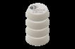 Rupes Polerrondeller 54/70 mm, Flera modeller - Vit - Superfine 4-pack