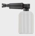 Skumpåläggare RM, 2 liter (300 bar, 23 liter)