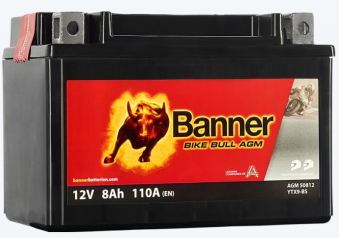 Banner MC-Batteri Bike Bull AGM 50812 -