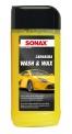 Sonax Carnauba Wash&Wax, 500 ml