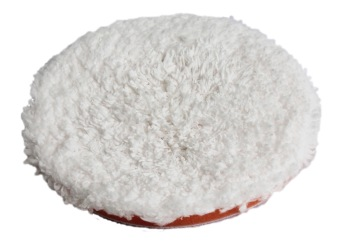 Mikrofiberrondell Glosser 135 mm Röd -
