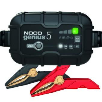 Batteriladdare Noco Genius5 6/12V -