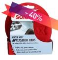 Sonax Applikator pads, 2-pack