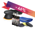 Poleringskit ShineMate EX610-15 + SONAX