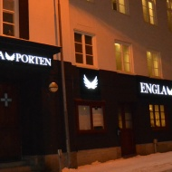Ljuslådor Nattbild-Englaporten-Sundsvall