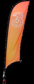 Beachflagga Haj