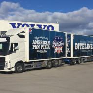 Foliering av lastbil & släpvagn