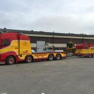 Foliering av lastbil och släpvagn