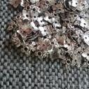 Tibetan silver Pärlhattar, 50 - pack