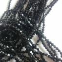 Bicones svart 3 x 3 mm