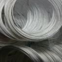 Platinumpläterad 50 varv. 5.5cm x 0,6 mm.