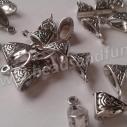 Tibetansk antiksilver 20-pack