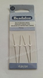 4 pack big eye needle - 4 pack big eye needle nålar. 6cm längd. Perfekt nål när du pärlar. Pris: 30 :-