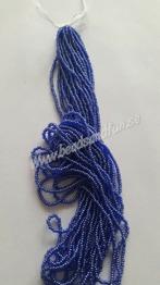 Cobalt Luster - Cobalt Luster HSB/36100/  11/0 = 2,1mm. Ca 400 pärlor / sträng.