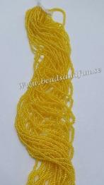Yellow Luster - HSB/86010/ 11/0 = 2,1mm Ca 400 pärlor / sträng.