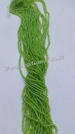 Olivine Luster - Olivine Luster. HSB/56220/ 11/0 = 2,1mm Ca 400 pärlor / sträng.