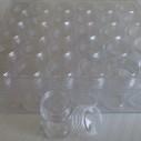 Lådan med 30 burkar. Förvaring, småpärlor. OBS pärlorna ingår ej.