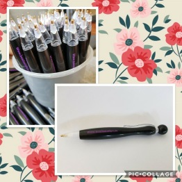 Duttpenna svart - Diamond penna