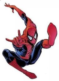 Spindelmannen, fyrkant, 20x25cm - Spindelmannen
