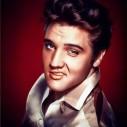 Elvis flirt, fyrkant, 30x40cm