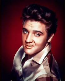 Elvis flirt, fyrkant, 30x40cm - Leverans V27