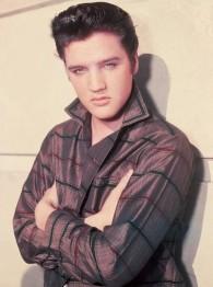 Elvis, fyrkant, 50x70cm - Elvis