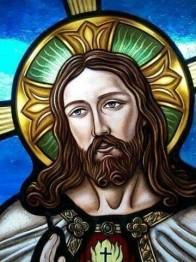 Jesus, rund, 20x25cm - Jesus, rund, 20x25cm