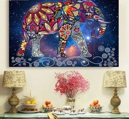 Elefant - 40x30cm