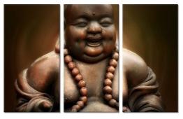 Leveranstid 1,5v - Buddha 3 dels, fyrkant 20x40cm x 3 - Buddha 3 dels 20x40cm