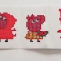 Stickers, Greta gris - 5 pack