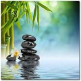 Leveranstid 1,5v - Meditation sten, fyrkant 40x40cm