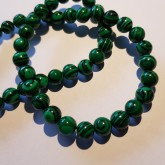 Syntetisk Malachite 8mm