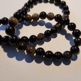 Natural Obsidian 8mm