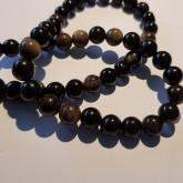 Natural Obsidian 8mm
