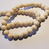 Syntetisk Howlite 8mm