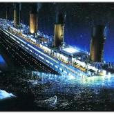Titanic, fyrkant 75x55cm