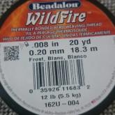Wildfire pärltråd 008 Vit