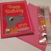 Noshörningen gratulationskort