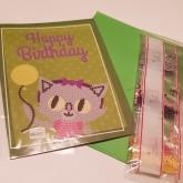 Katten gratulationskort