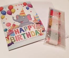 Elefant gratulationskort - Elefant gratulationskort