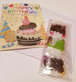 Tårta gratulationskort - Tårta gratulationkort