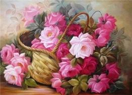 Blomsterkorg, fyrkant, 40x30cm - Blomsterkorg, fyrkant, 40x30cm