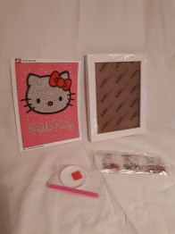 Hello Kitty rosa 15,5x20cm - Hello Kitty rosa 15,5x20cm