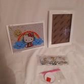 Hello Kitty regnbåge 20x15,5cm