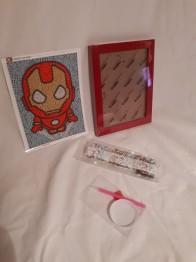 Iron man, 15,5x20cm - Iron man