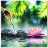 Leveranstid 1,5v - Meditation lotus, fyrkant 40x40cm